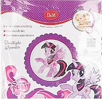 Набор для вышивания крестиком Сумеречная искорка My Little Pony, Daughter and Mom, 57927