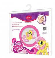 Набор для вышивания крестиком Флаттершай My Little Pony, Daughter and Mom, 57928