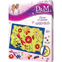 Набор для вышивания фетр Весна, Daughter and Mom, 48112