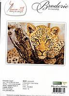 Luca-S Набор для вышивки крестом Леопард В525