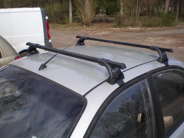 Поперечины УАЗ Патриот 2005- на гладкую крышу 4