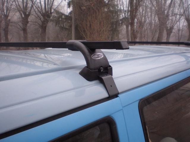 Поперечины УАЗ Патриот 2005- на гладкую крышу 5