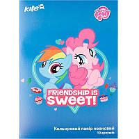 Бумага цветная неоновая Kite Little Pony А4 LP17-252