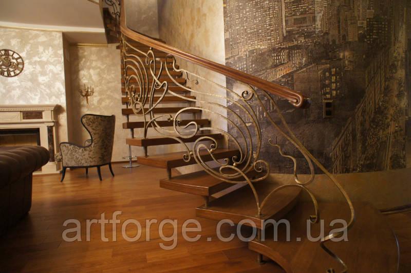 Ковані перила сходів