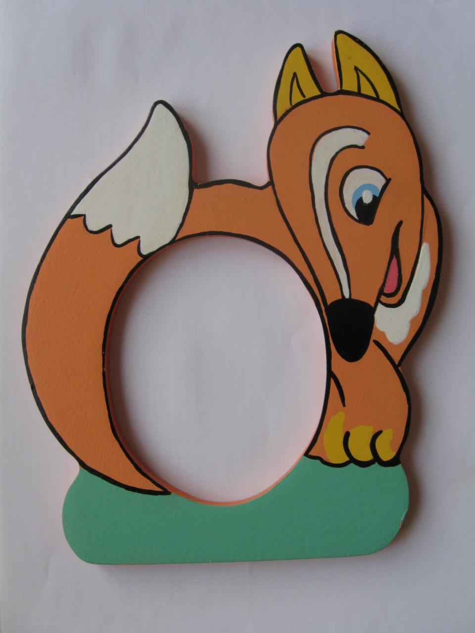 Детская фоторамка «Лисичка», Funny Animals