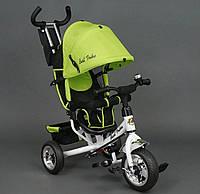 Велосипед детский 3-х колёсный Best Trike 6588 салатовый колесо пена , фото 1