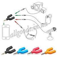 Сплиттер - переходник для наушников и микрофона