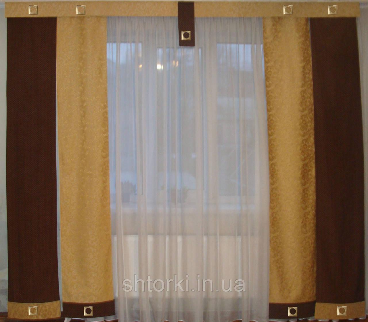 Комплект панельных коричневые и песочные