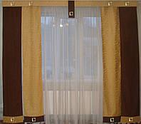 Комплект панельных коричневые и песочные, фото 1