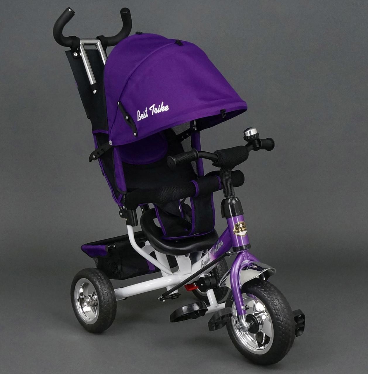 Велосипед детский 3-х колёсный Best Trike 6588 фиолетовый колесо пена