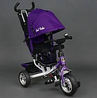 Велосипед детский 3-х колёсный Best Trike 6588 фиолетовый колесо пена , фото 1