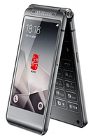 VIP Смартфон-раскладушка W2016  с 2 дисплеями black(черный)