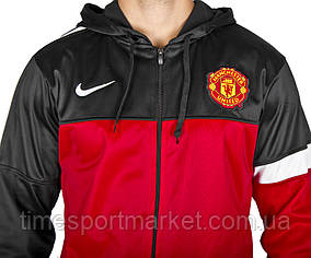 Кофта ФК Манчестер Юнайтед красная размеры XS S M