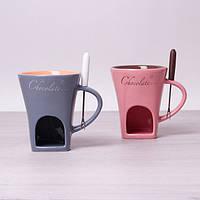 Набор для фондю Kamille Chocolate KM-5505 (2 пр)