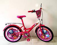 Велосипед 2-х колесный 20 дюймов 172026 со звонком,зеркалом,руч.тормоз,без доп.колес