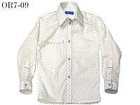 Детская белая рубашка для мальчика