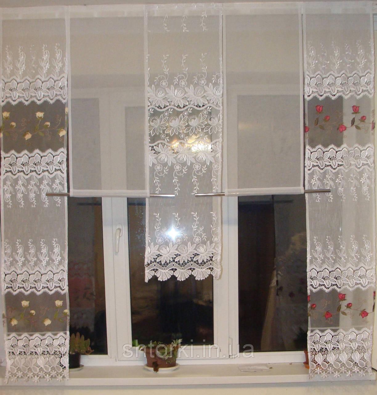 Панельки купон с розочками, 1,5м
