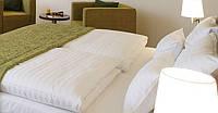 Одеяло полуторное зимнее силиконовое страйп-сатин Lotus