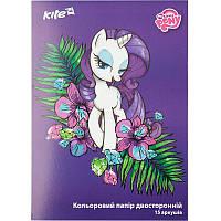 Кольоровий папір двостороння Kite Little Pony А4 LP17-250
