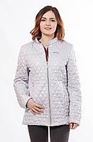 Женская стильная весенняя куртка Саша 2-Р сталь 44-56 размеры