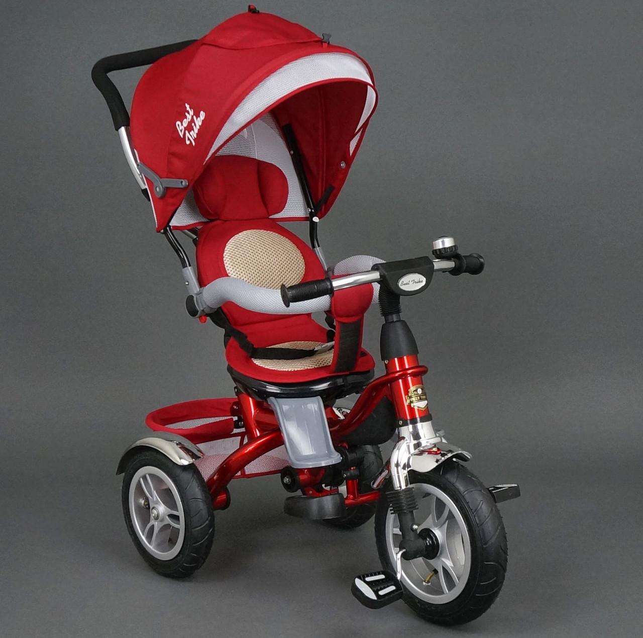 Велосипед 3-х колёсный 5688 Best Trike красный надувное колесо