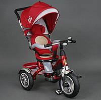 Велосипед 3-х колёсный 5688 Best Trike красный надувное колесо, фото 1