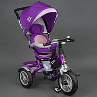 Велосипед 3-х колёсный 5688 Best Trike фиолетовый надувное колесо, фото 1