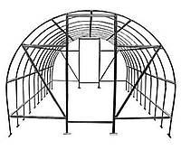 Теплица Оскар Дачница 30м²  (300х1000х200см) Под Пленку Серый
