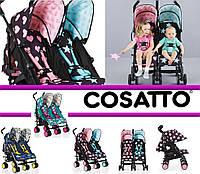 Прогулочная коляска для двойни Cosatto Supa Dupa Go