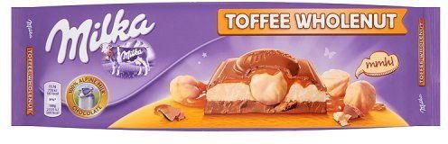 Шоколад Milka Toffee Wholenut (тофи с орехами) 300г Милка