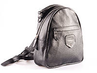 Рюкзак кожаный женский серый, фото 1
