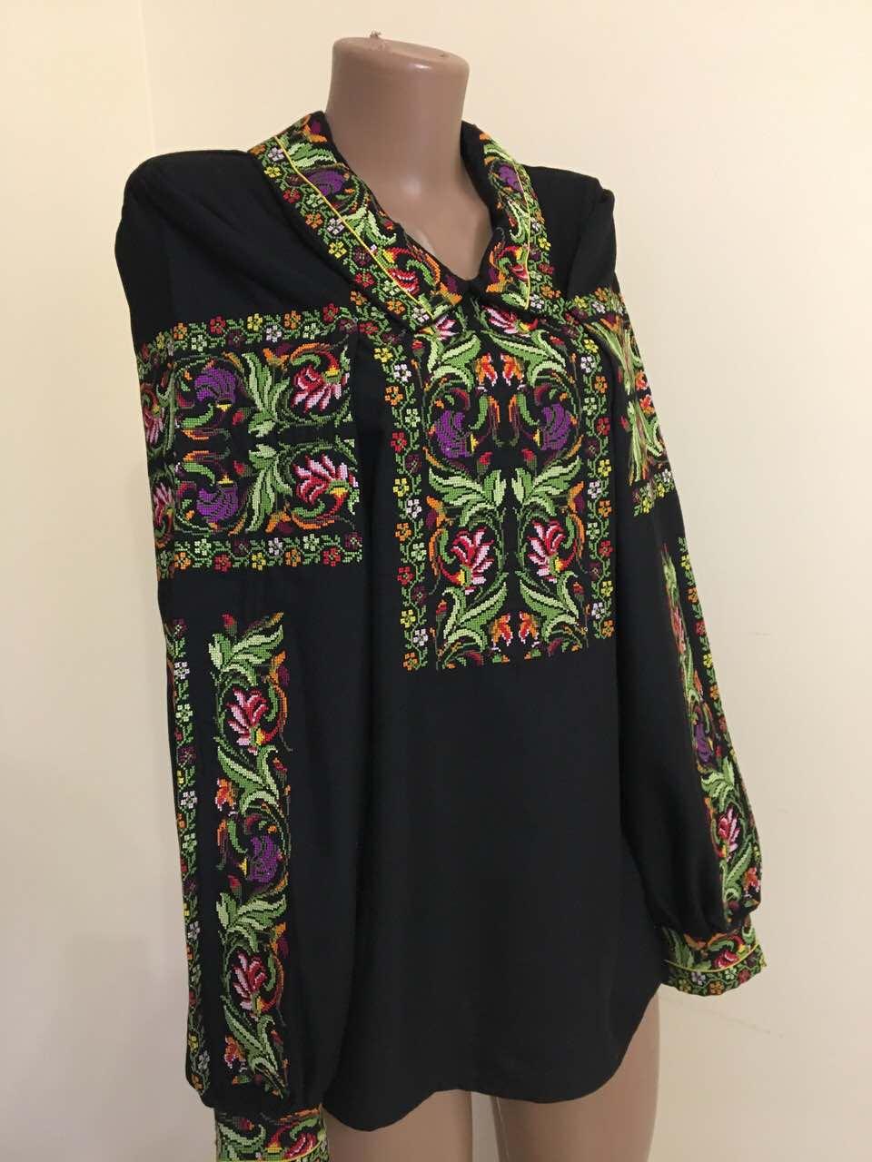 Дизайнерська вишита сорочка на комірець розмір 42-44 (S-M)  продажа ... e886c6128b069