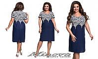 Платье женское, размер 52,54,56,58,60. Ткань лён