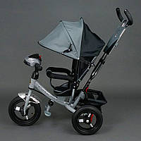 Трехколёсный детский велосипед Best Trike 6588 B с надувными колесами