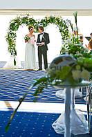 Свадебная церемония, оформление выездной церемонии