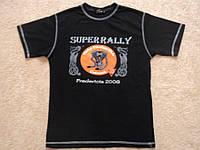 Футболка для Harley Davidson  р. S ( Superrally ) СОСТ НОВОГО