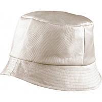 Молодежная панама из 100% хлопка BOB HAT MB006 бежевая