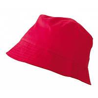 Хлопковая панама BOB HAT MB006 красного цвета (красная)