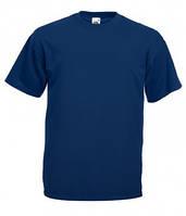 Стильная молодежная футболка ValueWeight (Валувей) синего цвета
