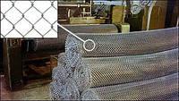 Сетка плетеная Рабица 50х1,8 оцинкованная ГОСТ 5336-80