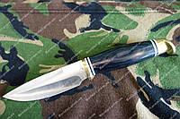 Нож туристический  из стали 440С  +кожаный чехол