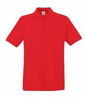 Футболка поло RED мужская(красная)