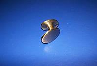 Ручка мебельная капля средняя бронза, фото 1
