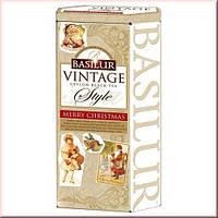 Чай черный Basilur коллекция Винтаж Счастливое рождество 100г
