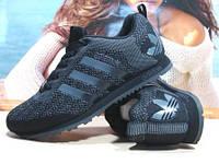 Кроссовки мужcкие Adidas (реплика) черные 44 р.