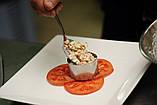 Сервировочное кулинарное кольцо с порессом Цветок Мousse mold, фото 6