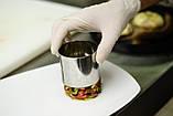 Сервировочная квадратная кулинарная форма с прессом  Мousse mold, фото 5