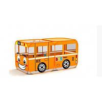 Палатка детская Веселый автобус M 1183