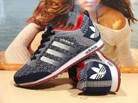 Мужские кроссовки Adidas сине-белые 44 р.