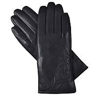 Кожаные перчатки женские на плюше Perch-7 перчатки оптом
